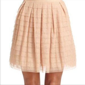 BCBGMaxAzria Alegra Tulle Lined Skirt